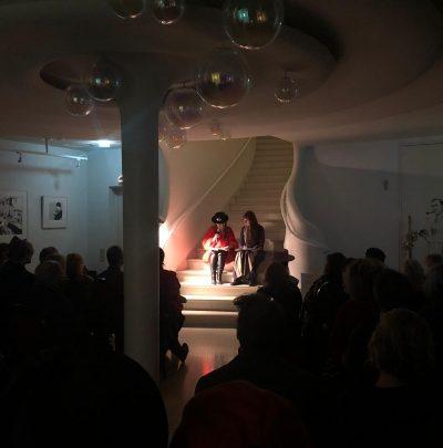 LESUNG LISA D. & FIONA BENNETT @FLUSH, BERLIN 25.11.19